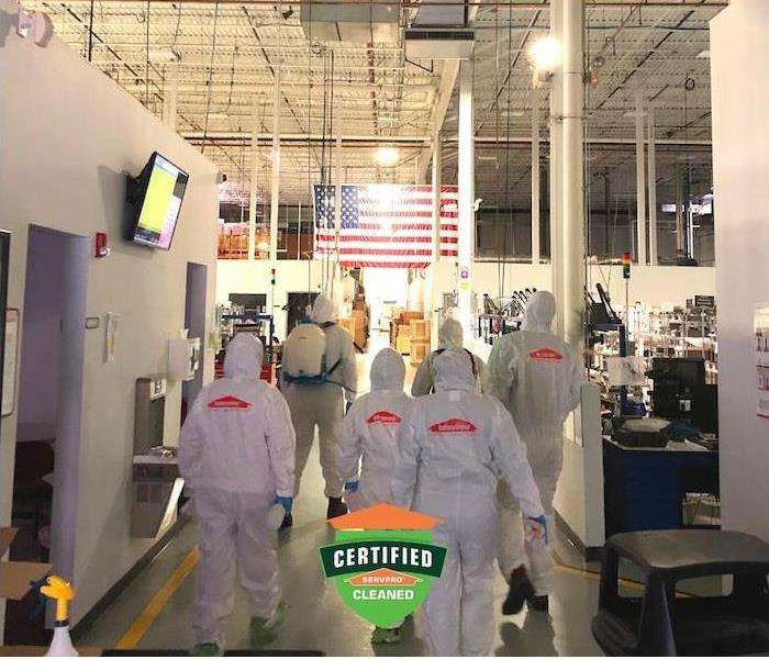 Commercial Needs - image of SERVPRO employees in PPE